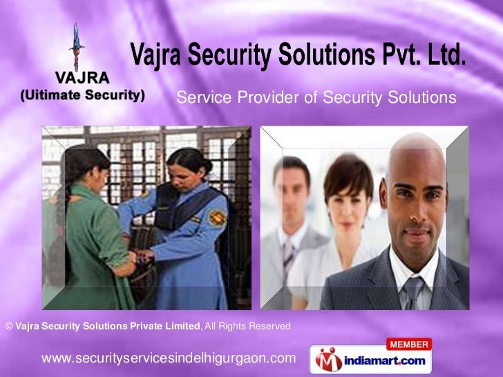 Service Provider of Security Solutions<br />