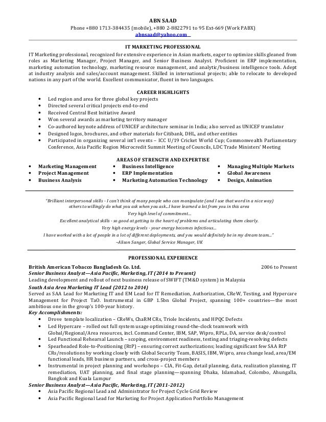 abn Saad revised resume ( real client with name changed)