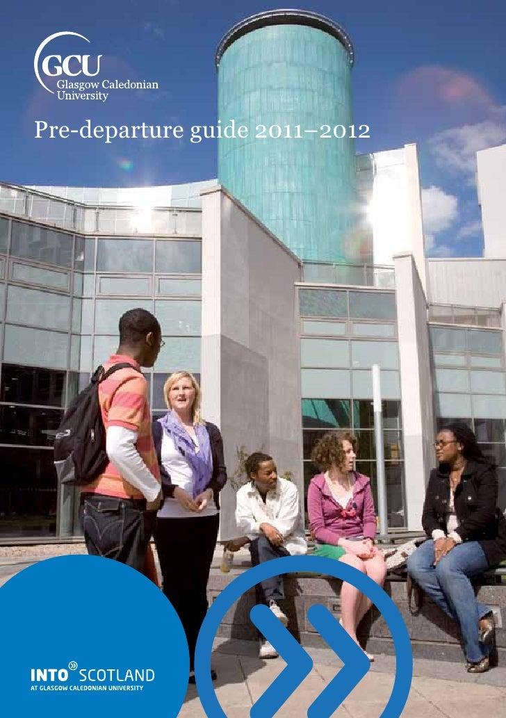 Pre-departure guide 2011–2012