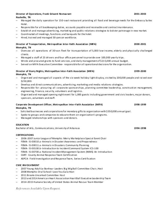 Kimberly Holley Resume