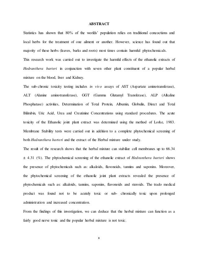 abstract for construction project