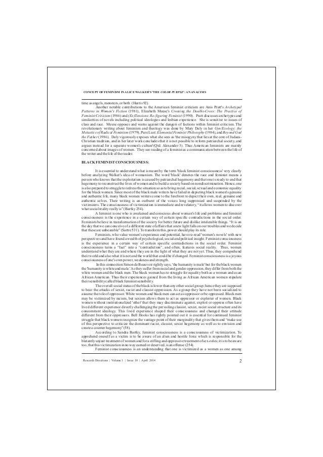 the color purple research paper