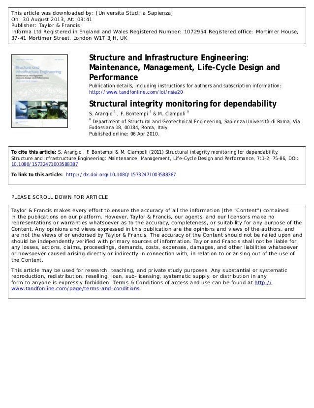 This article was downloaded by: [Universita Studi la Sapienza] On: 30 August 2013, At: 03:41 Publisher: Taylor & Francis I...