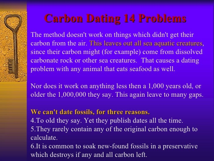 young earthers carbon dating