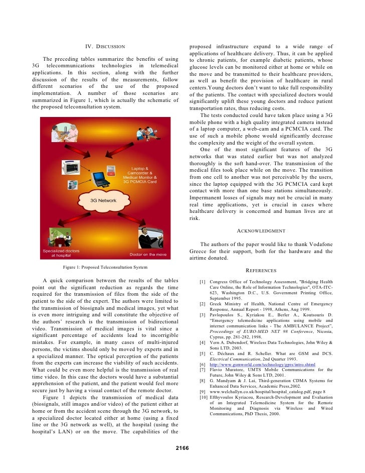 Brunel University: 3G networks in emergency telemedicine. An in-depth evaluation and analysis