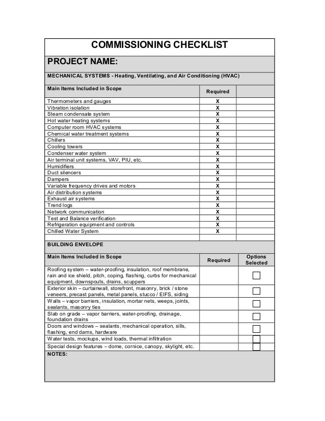 157882189 commissioning checklist3.11.10