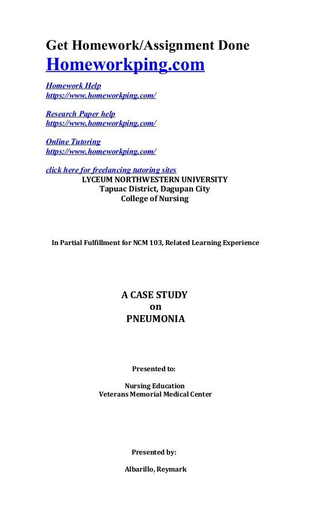 A case presentation on viral pneumonia - SlideShare