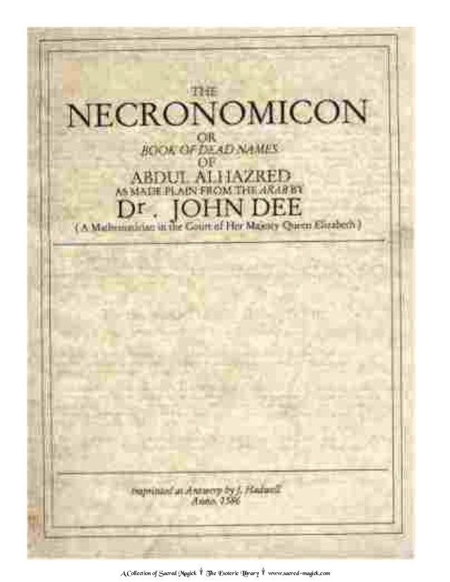 1586 necronomicon