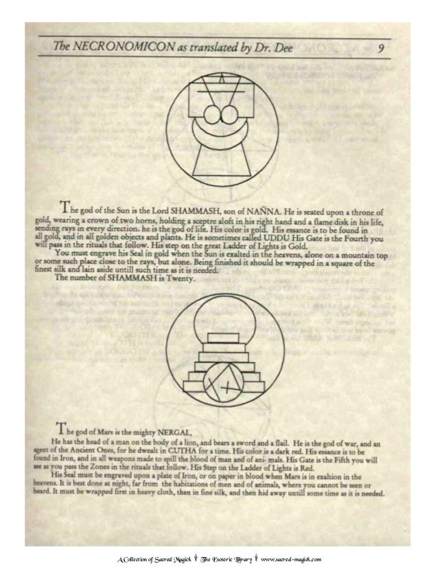 dr john dee necronomicon pdf