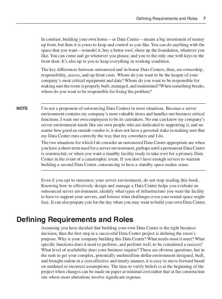 Build The Best Data Center Chapter Excerpt