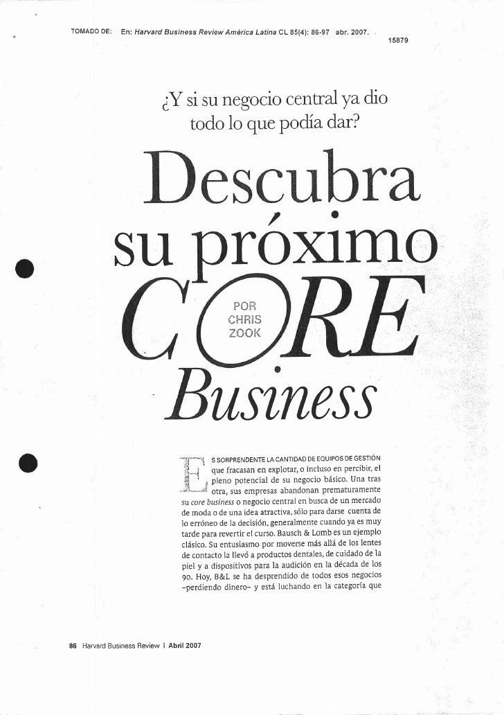 Descubra Su Próximo Core Business 15879