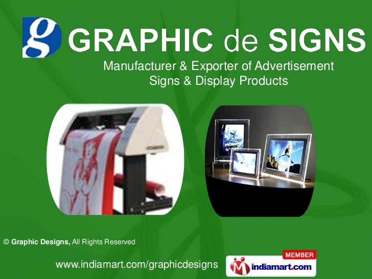 Manufacturer & Exporter of Advertisement Signs & Display Products<br />