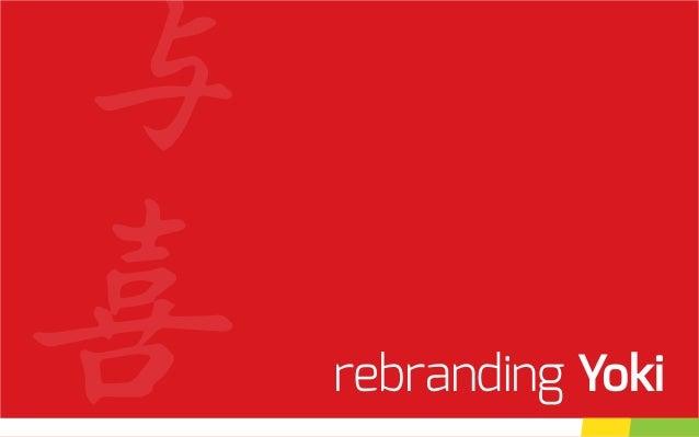 rebranding Yoki