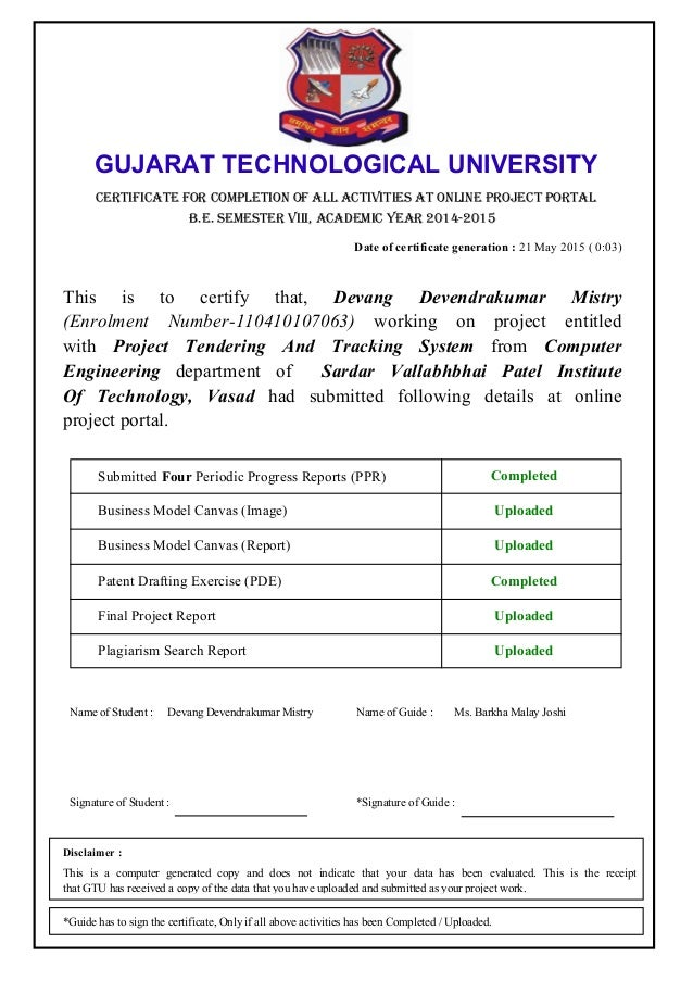 Final Report PTAT