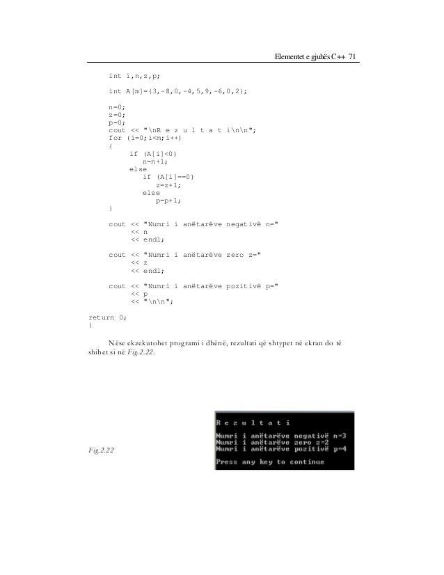 Bazat e programimit ne c++