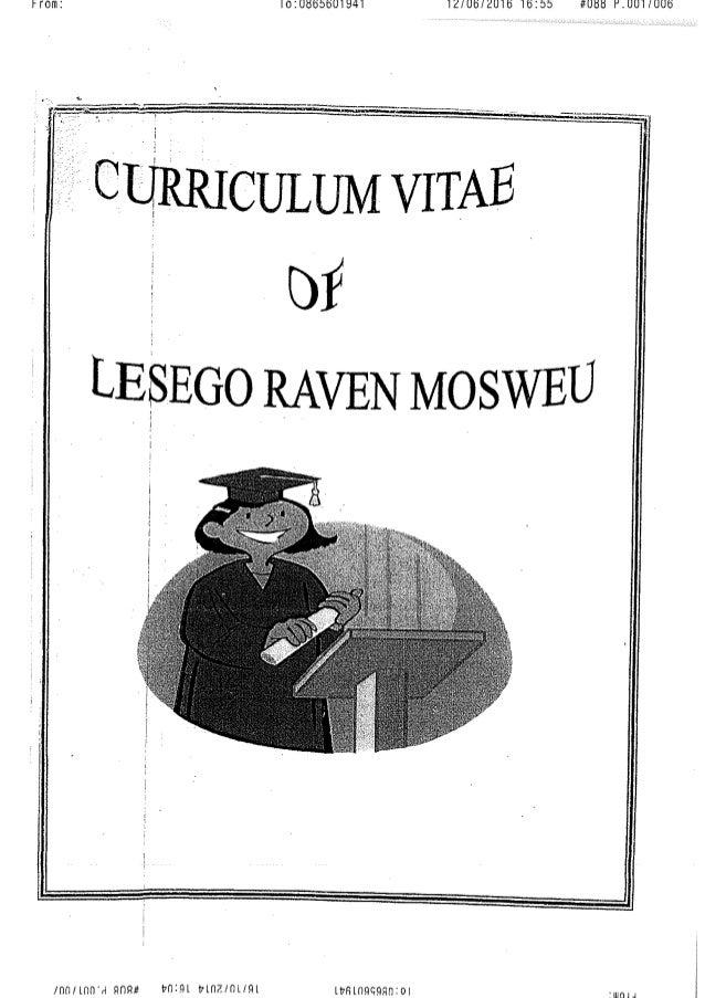 LESEGO RAVEN