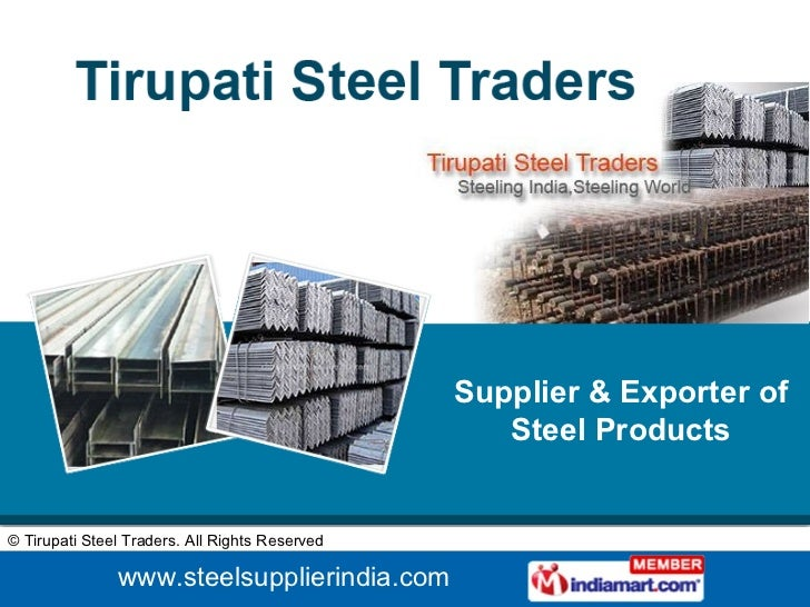 Supplier & Exporter of Steel Products