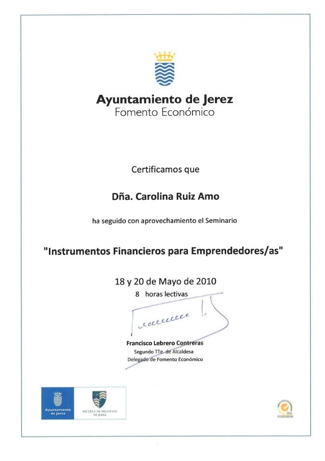 """INSTRUMENTOS FINANCIEROS PARA EMPRENDEDORES/AS"""