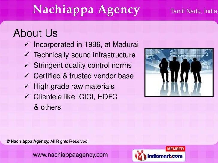Name Boards by Nachiappa Agency Madurai Slide 2