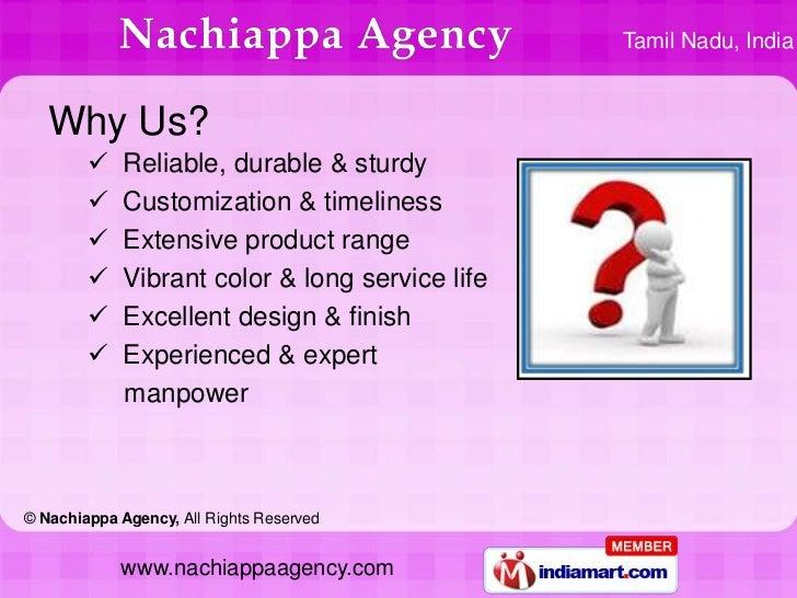 Name Boards by Nachiappa Agency Madurai Slide 3