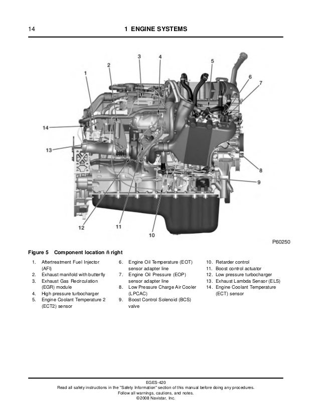 maxxforce dt engine diagram 159884774 maxforce ingles