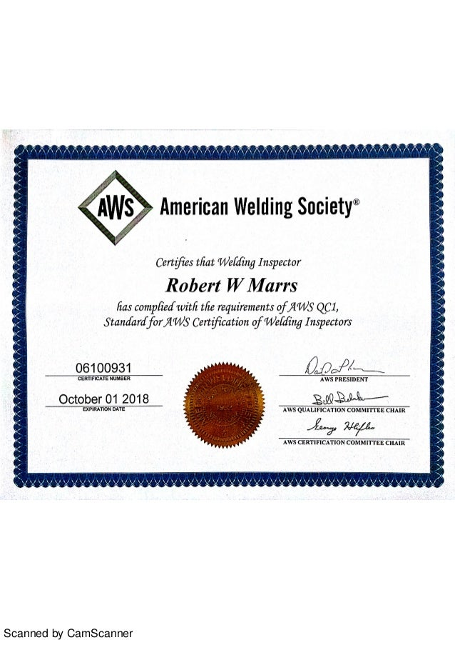 Cwi Certification 2015