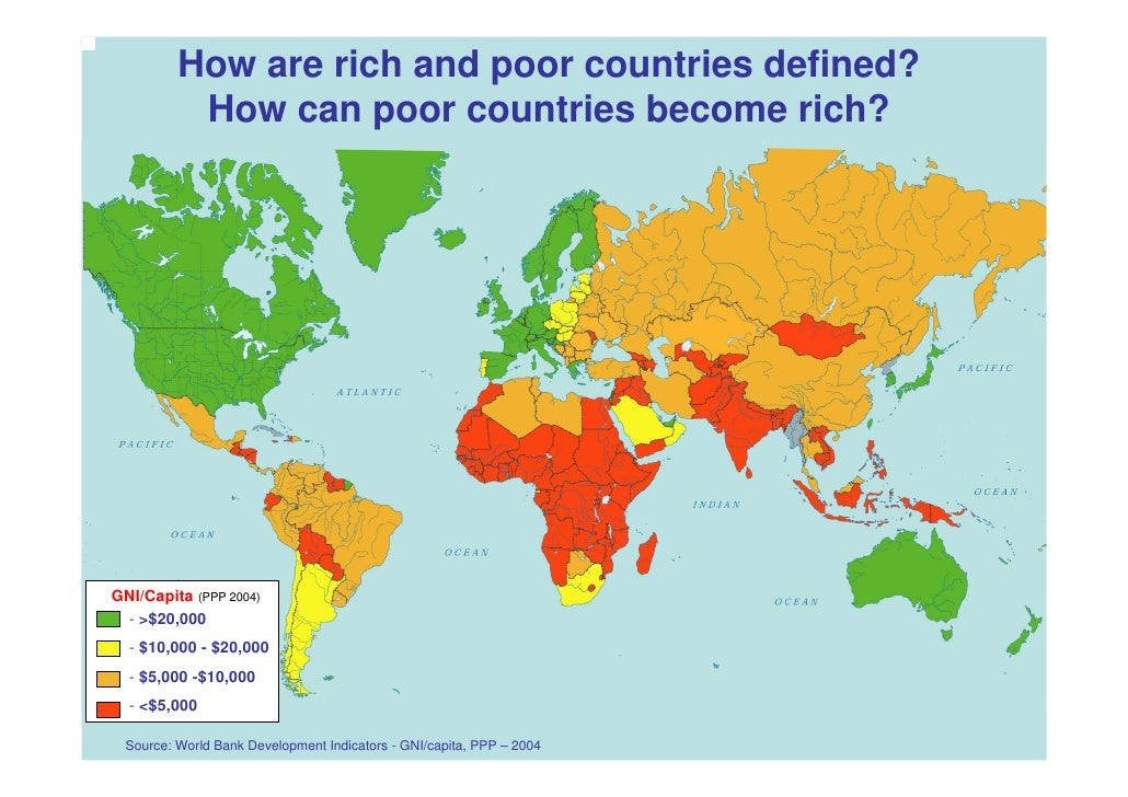 May Global Poverty Presentation - Poor countries map
