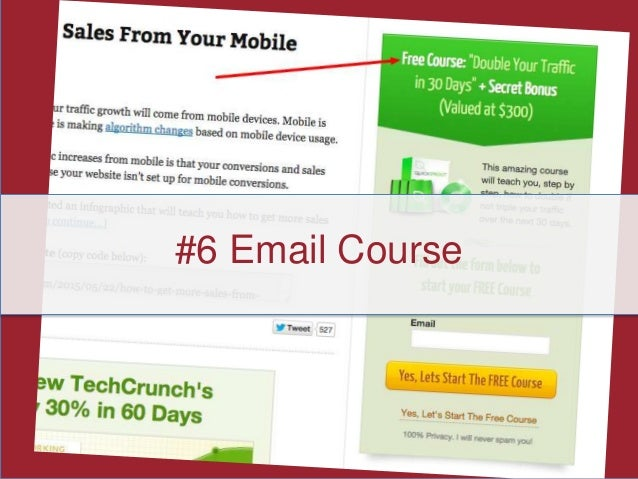6 Email Course Examples: Double