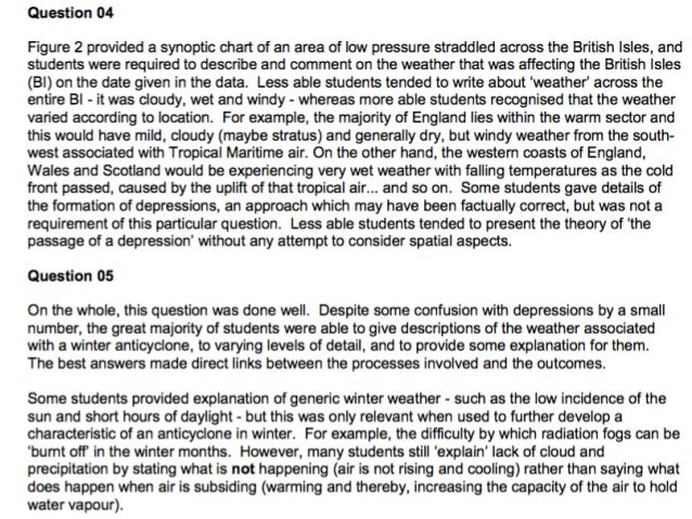 Explain the variations of the  weather experienced  under anticyclone conditions