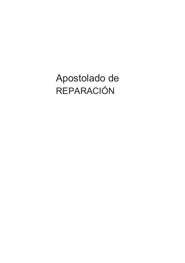 Apostolado deREPARACIÓN