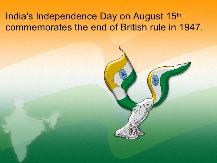 August 15 Independence Day in India Slide 2