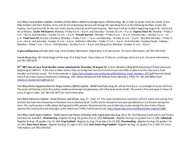 15 August 2012 1ABCT Weekly News Update Slide 3