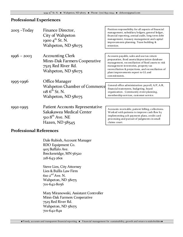 2 - Financial Analyst Resume
