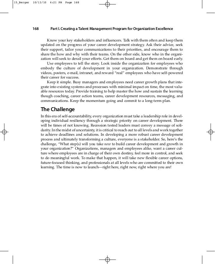 the talent management handbook berger pdf