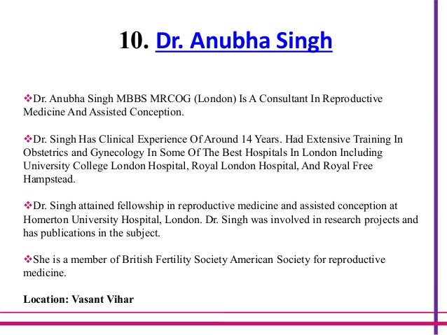 Best 15 IVF Doctors in Delhi With High Success Rates
