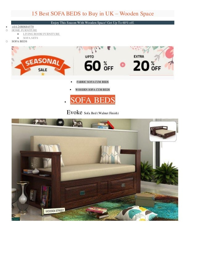 15 Best SOFA BEDS To Buy In UK U2013 Wooden Space Enjoy This Season With Wooden  ...