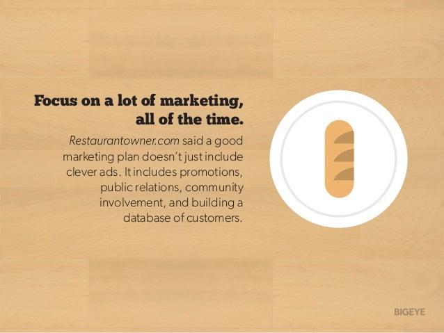 12 Tips On Marketing A Restaurant Slide 3