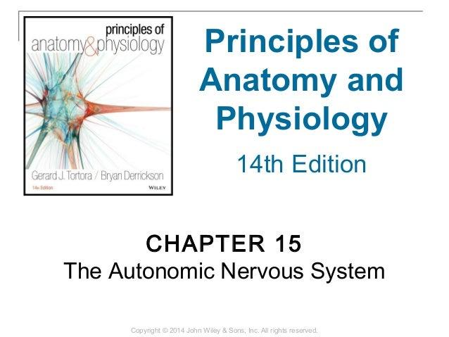 15 [chapter 15 the autonomic nervous system]