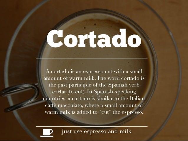 Coffee With Espresso Drink
