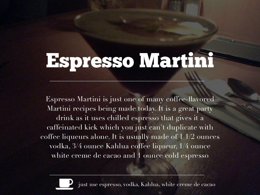 espresso martini espresso martini is