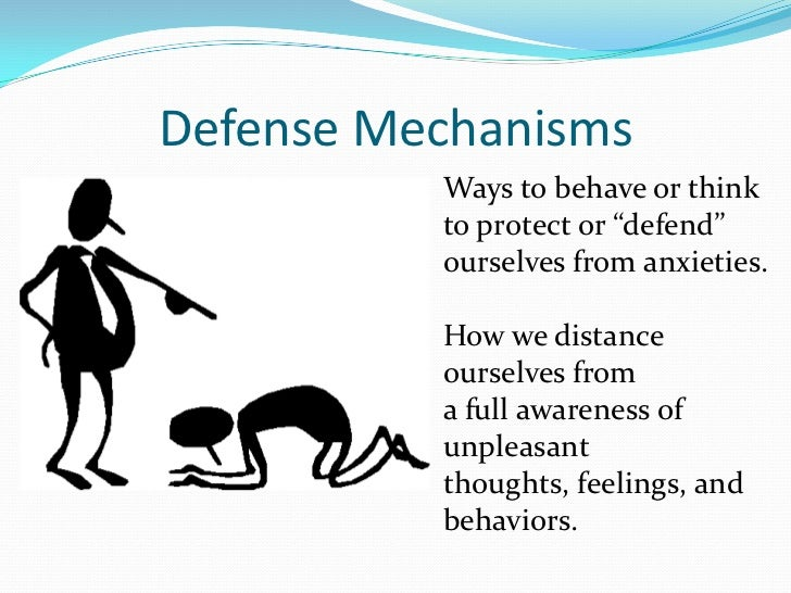 essay on defense mechanism Denial is one of the most common defense mechanisms that we all use,  pretending that an uncomfortable thing did not happen.