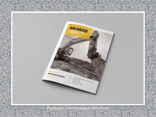 Buldozer Construction Brochure
