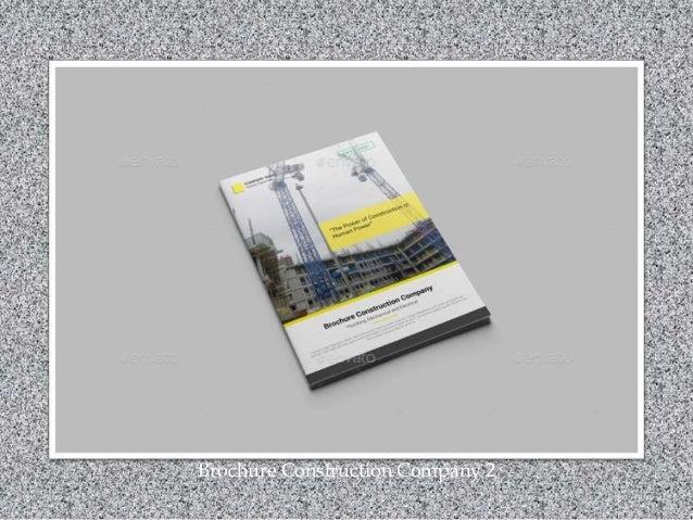 Brochure Construction Company 2