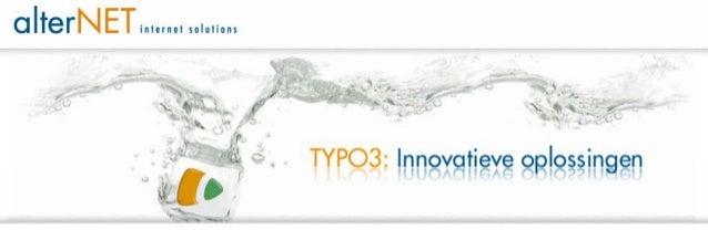 TYPO3 Congres 2012 - Cookiewet: alles wat je wilde weten, maar niet durfde te vragen