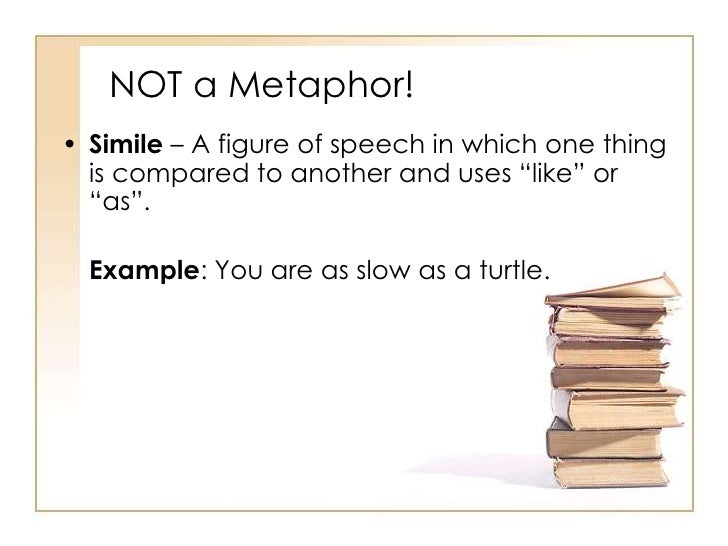 the use of metaphors