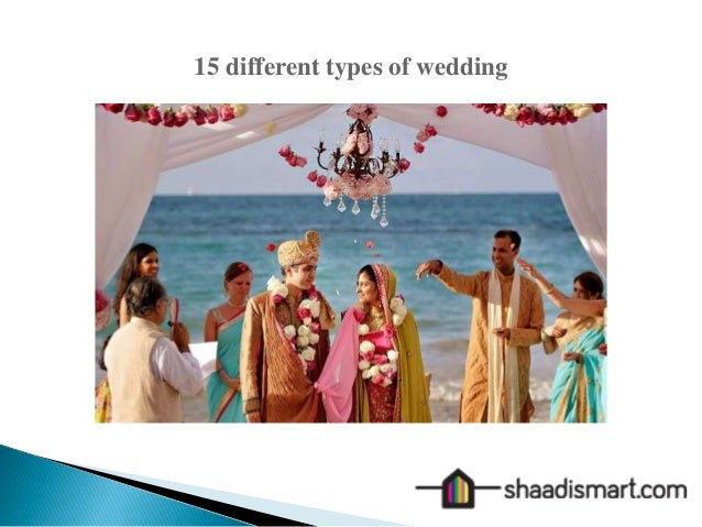 15 Different Types Of Wedding