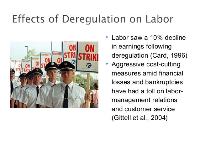 airline deregulation Air deregulation in china and its impact on airline competition 1994–2012.