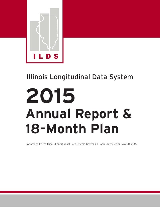 2015 ILDS Annual Report and 18-Month Plan