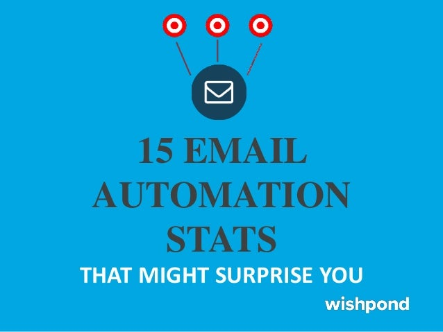 15 EMAIL AUTOMATION STATS THAT MIGHT SURPRISE YOU