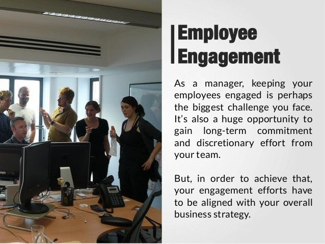 Business Commitment To Employee Engagement
